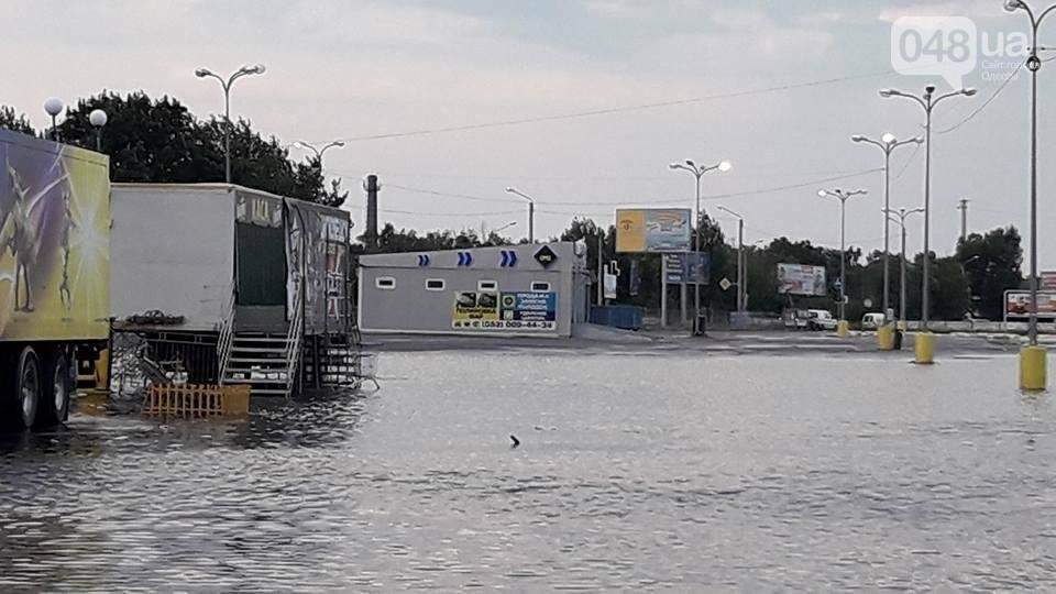 В Одессе затопило парковку самого большого торгового центра (ФОТО), фото-2