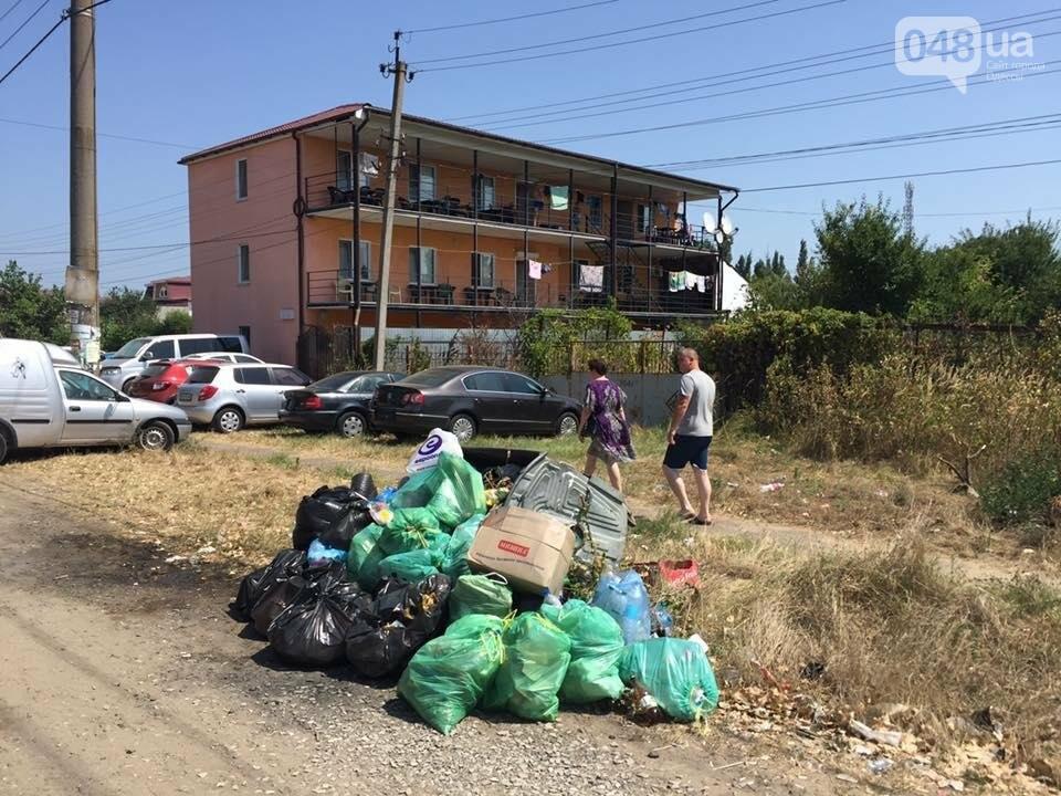 Обратная сторона Затоки: Крупнейший морской курорт Украины утопает в мусоре (ФОТО), фото-2