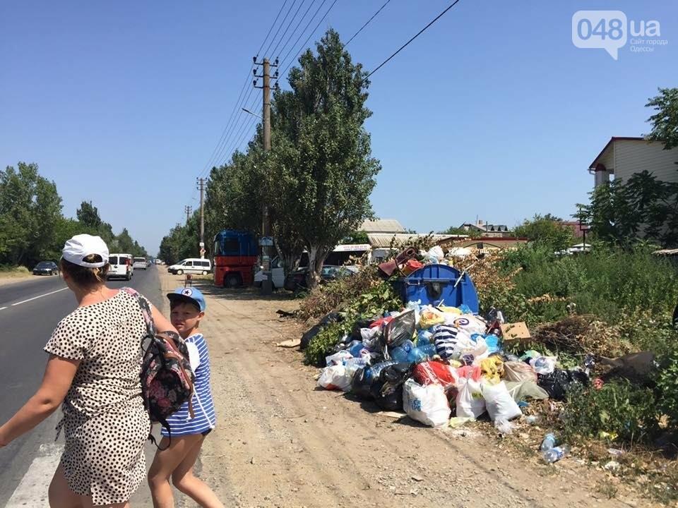 Обратная сторона Затоки: Крупнейший морской курорт Украины утопает в мусоре (ФОТО), фото-5