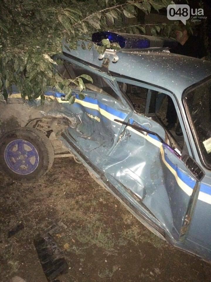 Появились фото аварии, в которой чуть не погиб одесский полисмен (ФОТО), фото-2