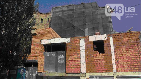 Знаменитый одесский Дом-стену пообещали отремонтировать (ФОТО), фото-2