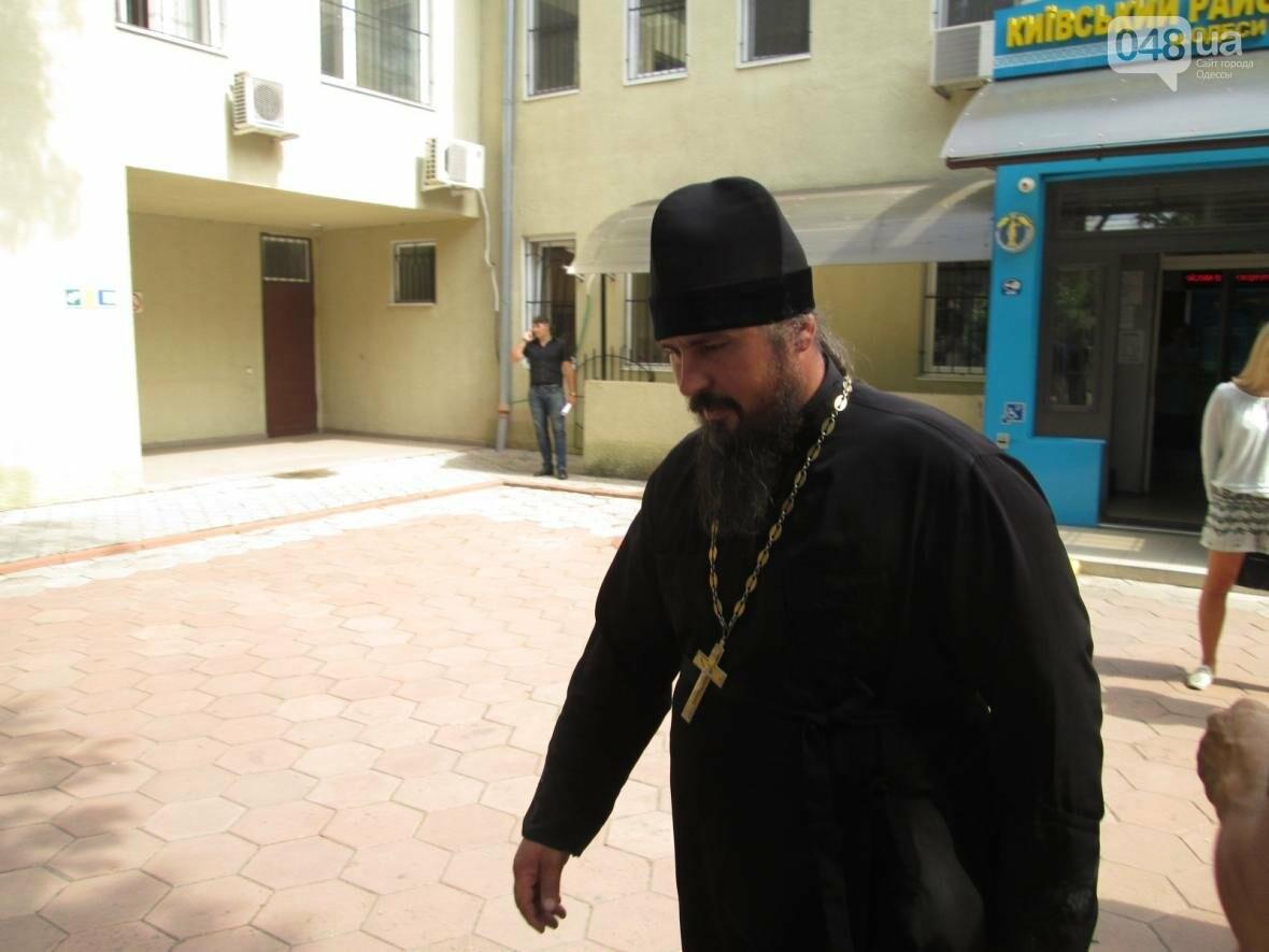 В Одессе московский поп принял суд за церковь (ВИДЕО), фото-1