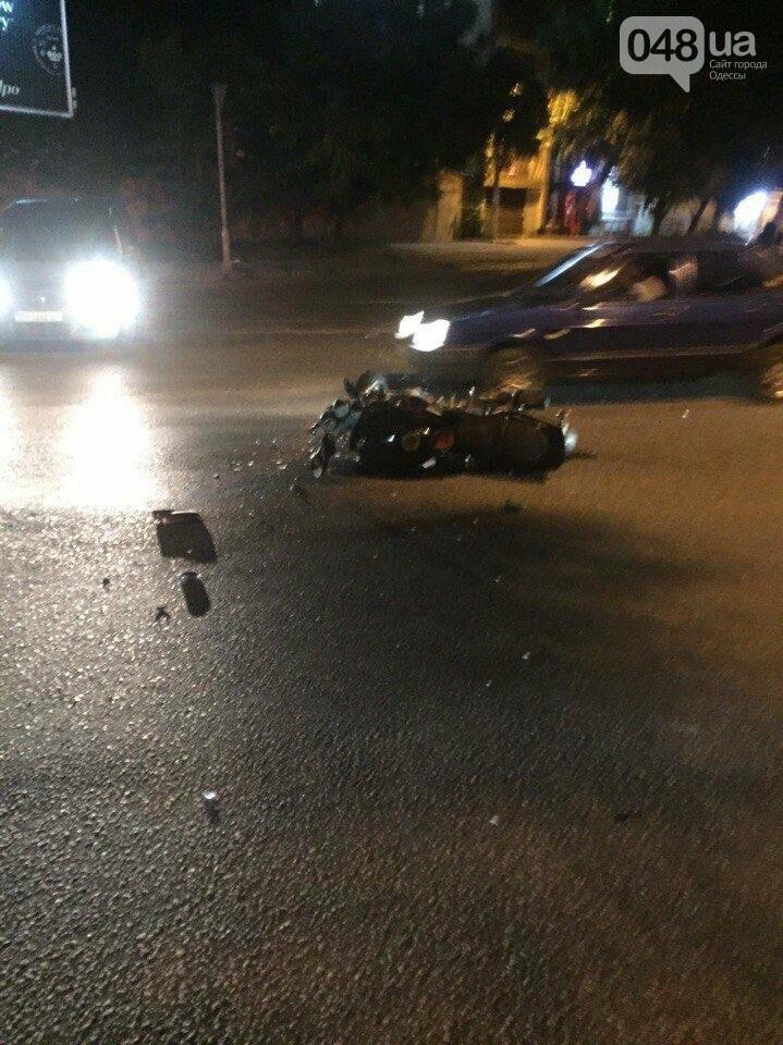 В Одессе водитель БМВ с удостоверением СБУ сбил девушку и три автомобиля (ФОТО), фото-1