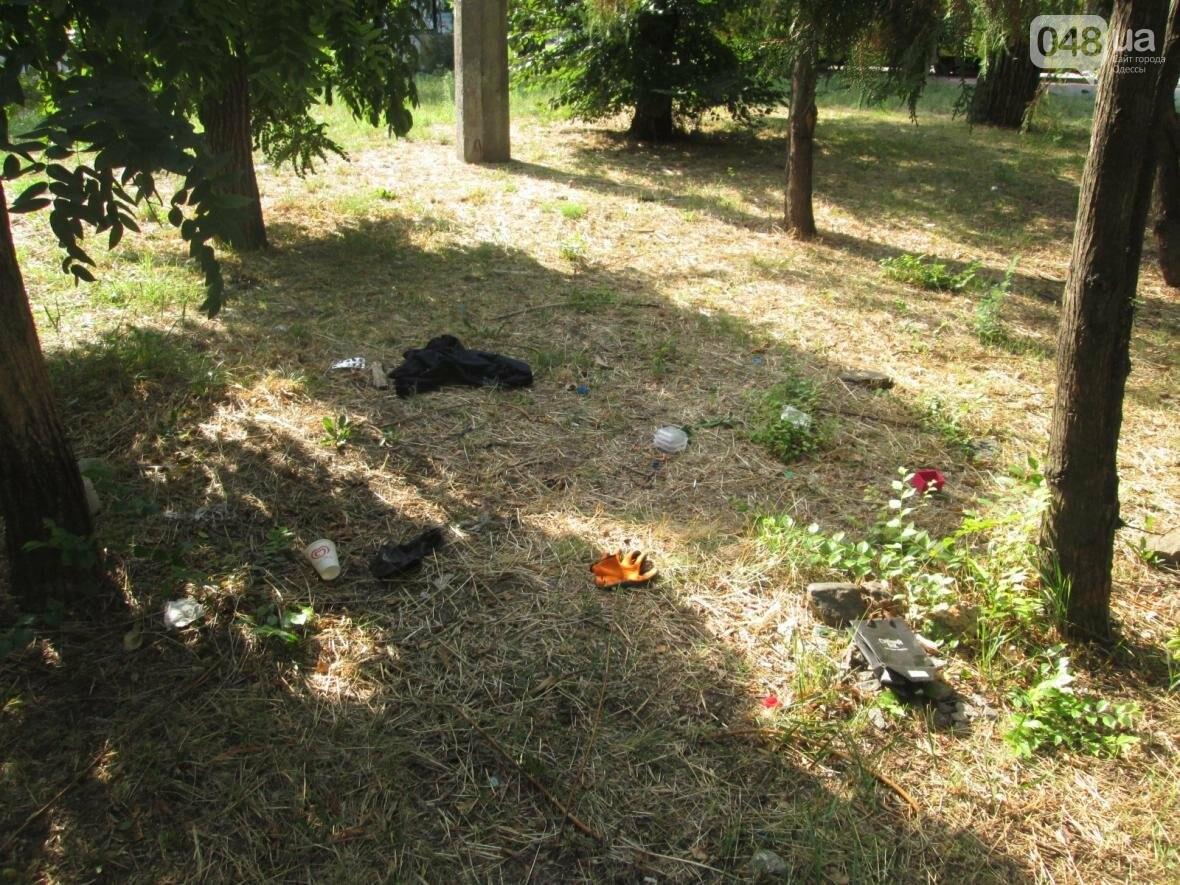 В центре Одессы коммунальщики отказываются убирать мусор (ФОТО), фото-35