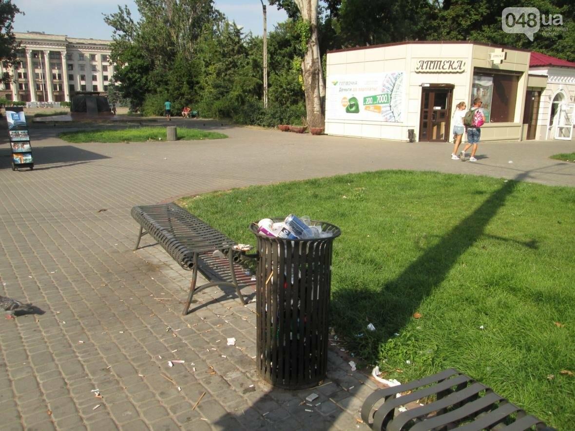 В центре Одессы коммунальщики отказываются убирать мусор (ФОТО), фото-21
