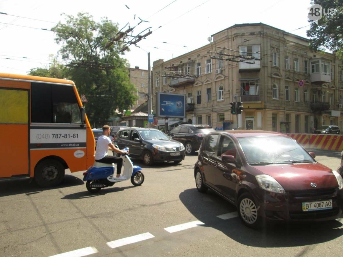 Хаос и анархия на дорогах: В Одессе меняют теплосети (ФОТО, ВИДЕО), фото-1