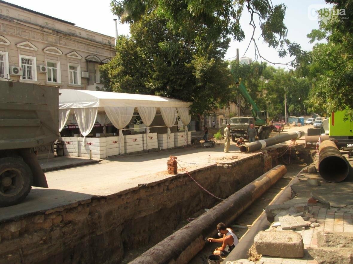 Хаос и анархия на дорогах: В Одессе меняют теплосети (ФОТО, ВИДЕО), фото-9