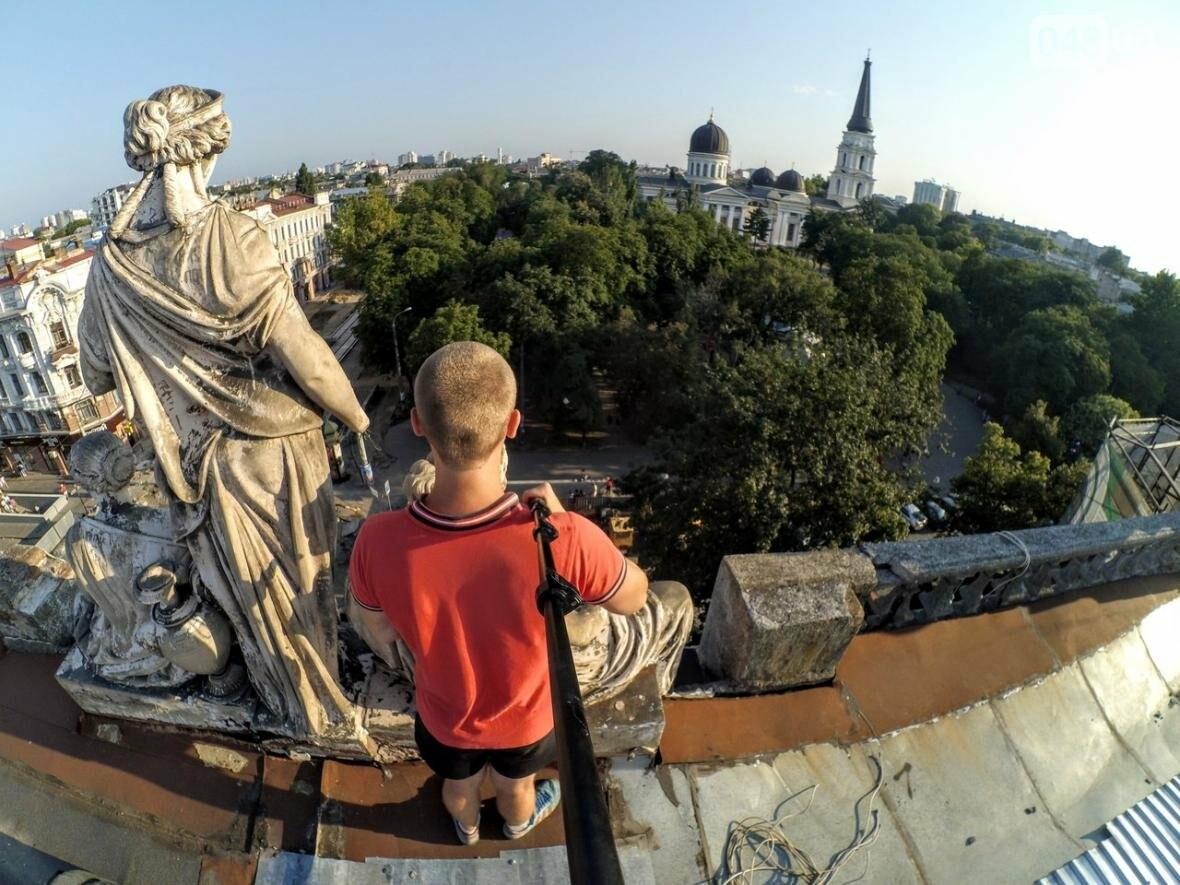 Мороз по коже: Львовский верхолаз пробрался на крышу одесского небоскреба (ФОТО), фото-2