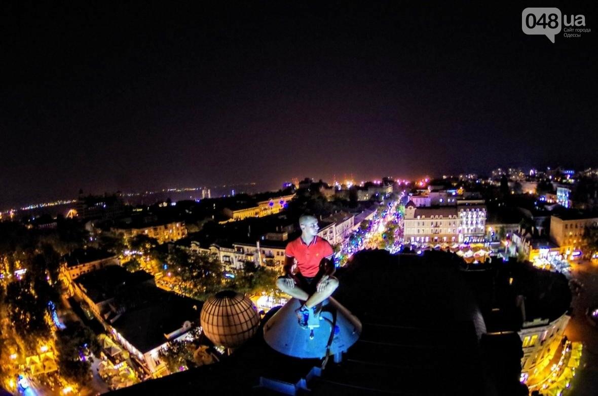 Мороз по коже: Львовский верхолаз пробрался на крышу одесского небоскреба (ФОТО), фото-4