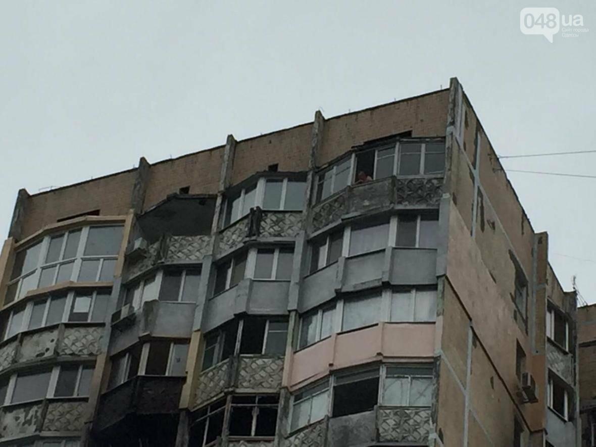 Ночной пожар в Одессе: На Таирова полыхала многоэтажка (ФОТО), фото-4