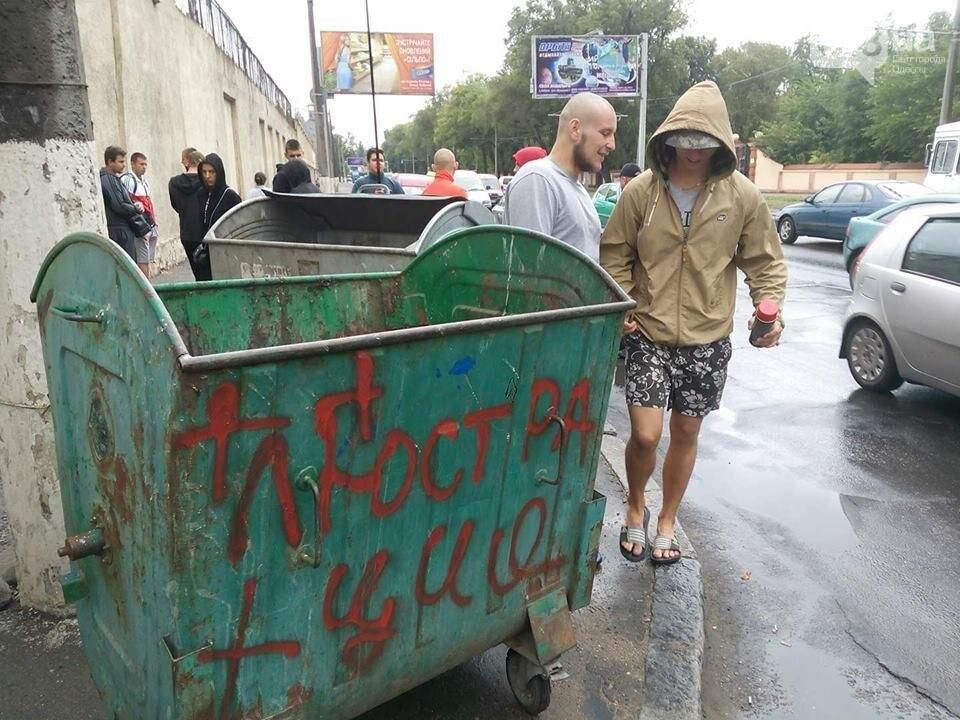 Руководство Одесского СИЗО сегодня посадят ...в мусорный контейнер?, фото-2