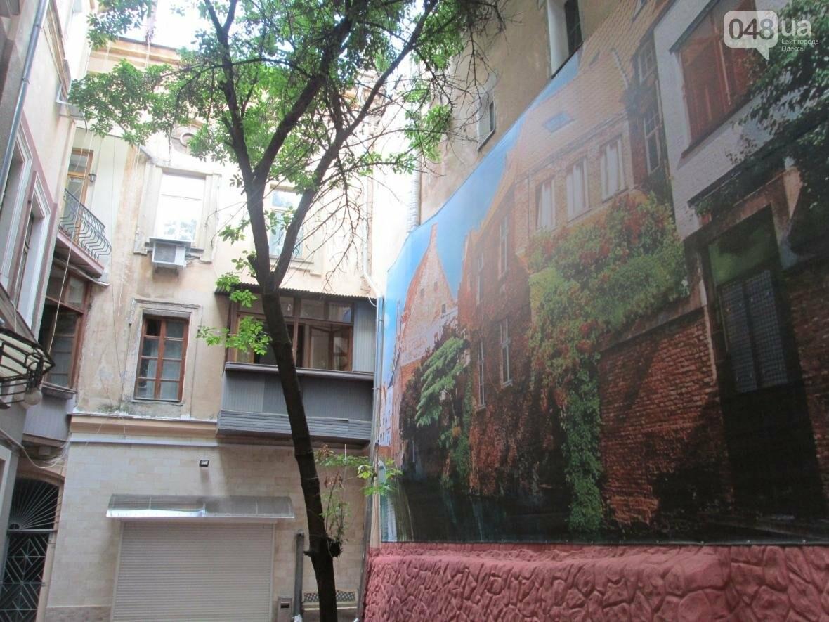 В центре Одессы восстановили старинную фреску (ФОТО), фото-5