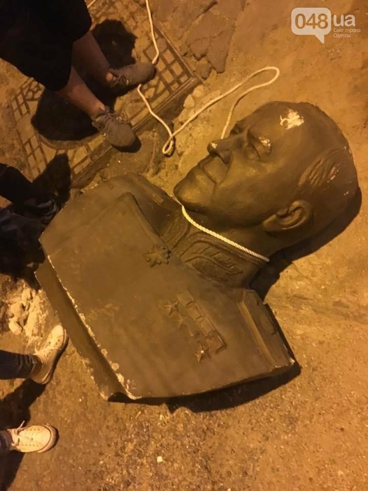 """В Одессе маршал Жуков пережил """"ураган"""" и полицейский трансферт, фото-4"""