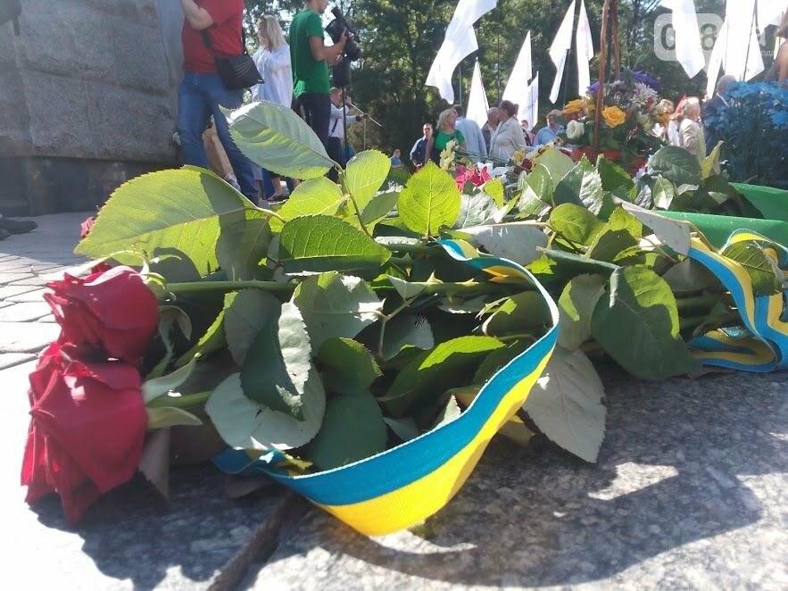 В Одессе почтили Кобзаря и поздравили Украину с 26-й годовщиной Независимости (ФОТО, ВИДЕО), фото-1