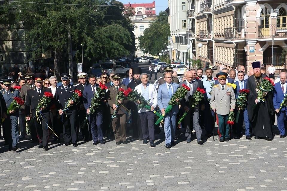 В Одессе почтили Кобзаря и поздравили Украину с 26-й годовщиной Независимости (ФОТО, ВИДЕО), фото-2