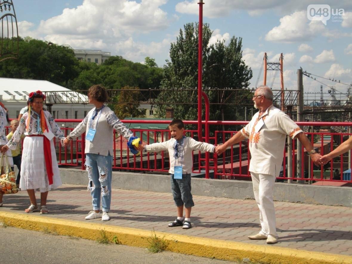 Дюк в вышиванке и неудачный рекорд: одесситов объединила любовь к Украине (ФОТО, ВИДЕО), фото-22