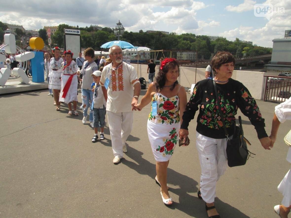 Дюк в вышиванке и неудачный рекорд: одесситов объединила любовь к Украине (ФОТО, ВИДЕО), фото-31