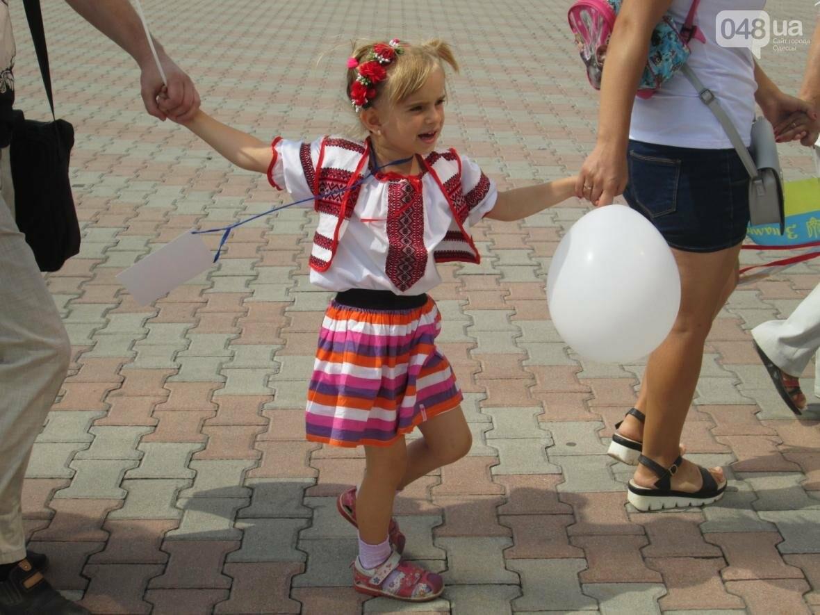 Дюк в вышиванке и неудачный рекорд: одесситов объединила любовь к Украине (ФОТО, ВИДЕО), фото-33