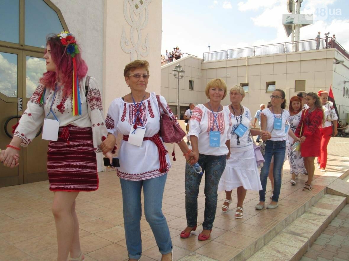 Дюк в вышиванке и неудачный рекорд: одесситов объединила любовь к Украине (ФОТО, ВИДЕО), фото-41