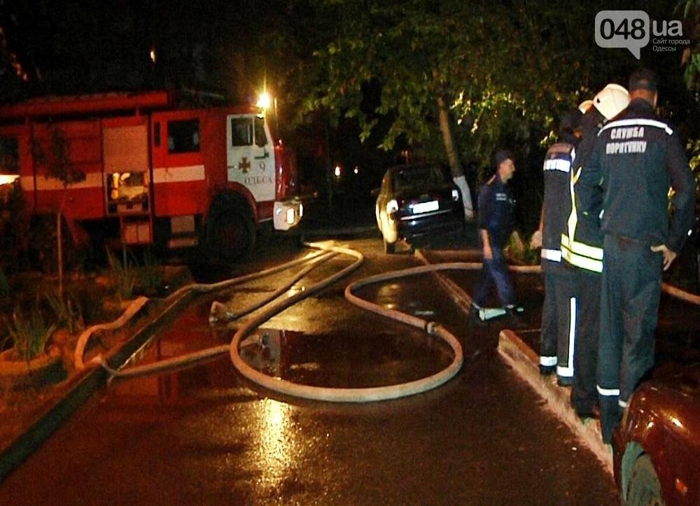 В Одессе на Таирова тушили пожар на 9 этаже (ФОТО, ВИДЕО), фото-1