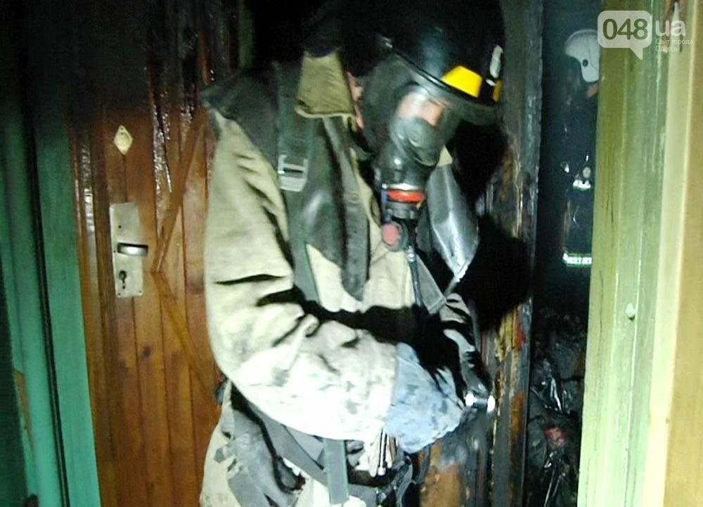 В Одессе на Таирова тушили пожар на 9 этаже (ФОТО, ВИДЕО), фото-3