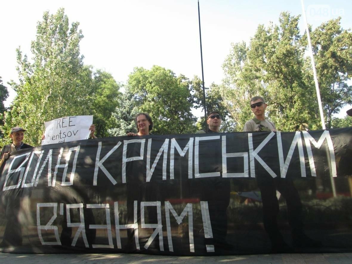 В центре Одессы патриотов сковали в цепи (ФОТО, ВИДЕО), фото-4
