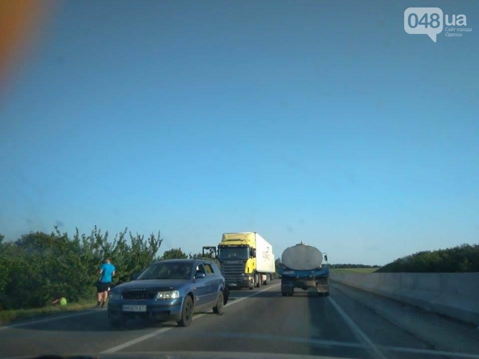 Авария остановила движение на трассе Киев-Одесса (ФОТО, ВИДЕО), фото-2
