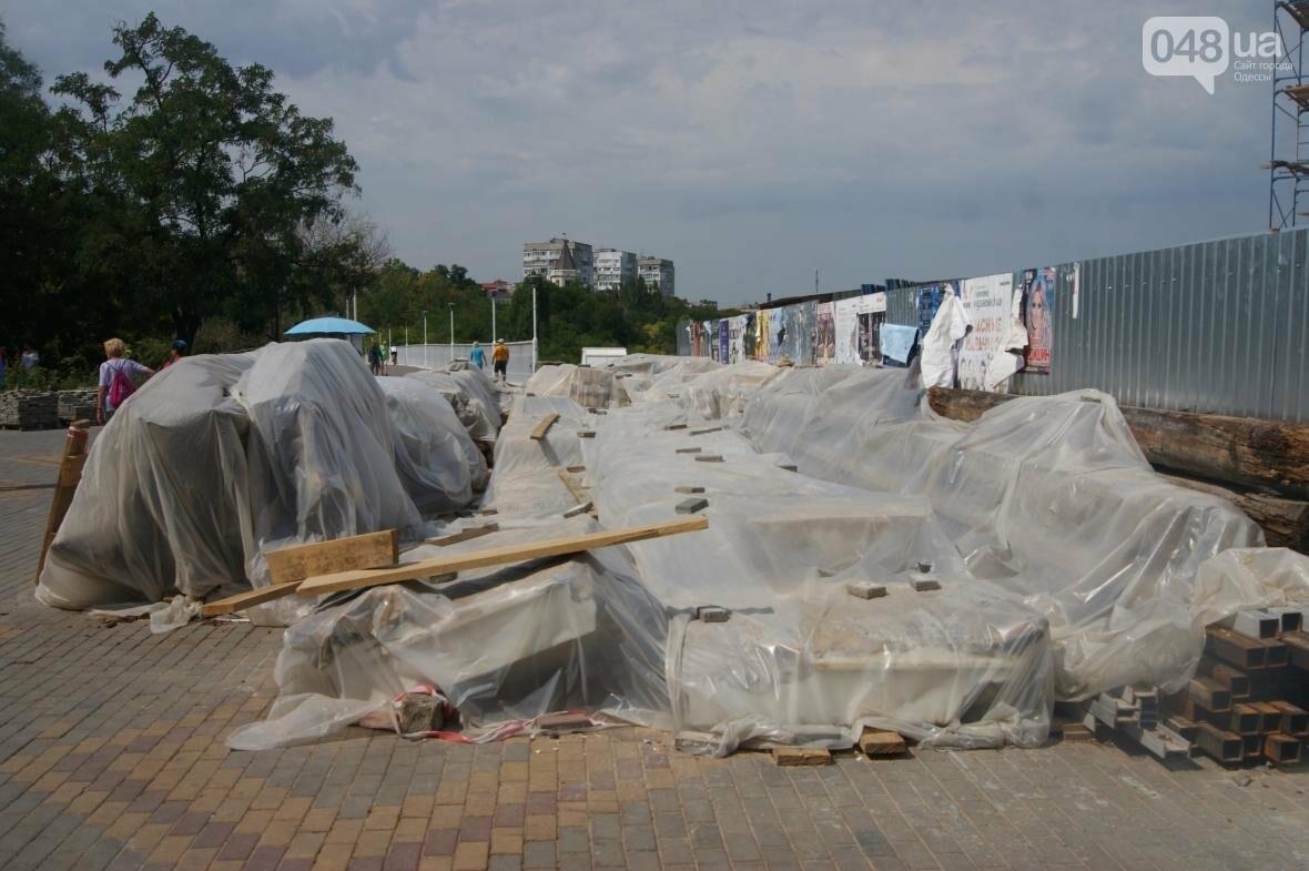 Одесскую Колоннаду скрепили металлом (ФОТО), фото-5