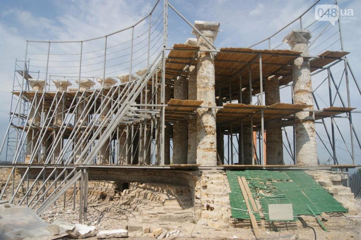 Одесскую Колоннаду скрепили металлом (ФОТО), фото-1