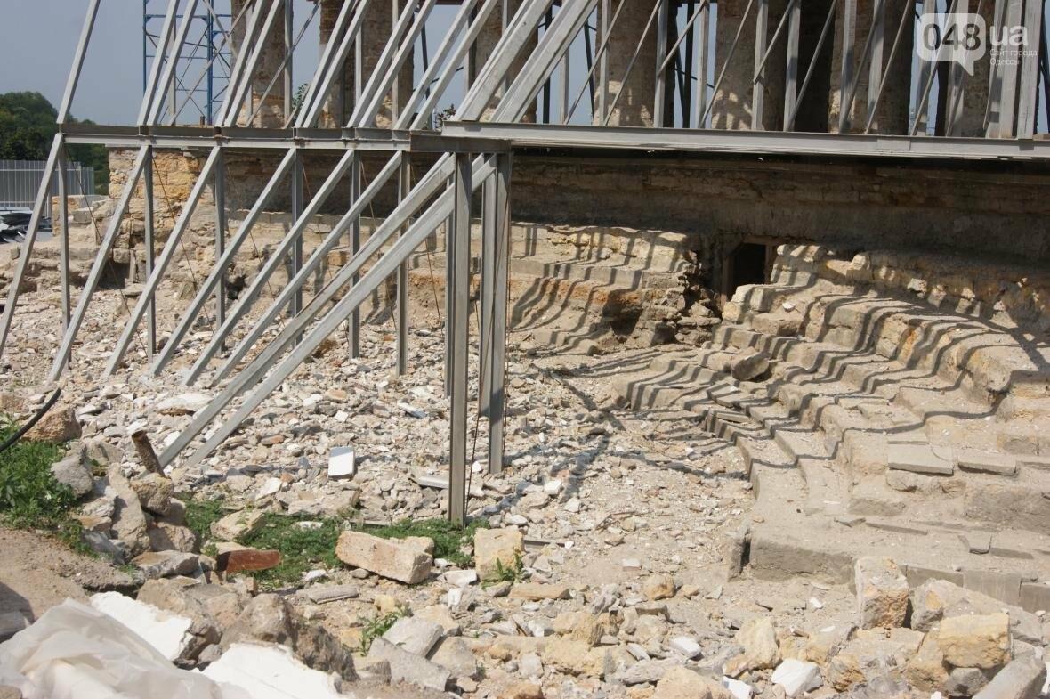 Одесскую Колоннаду скрепили металлом (ФОТО), фото-2