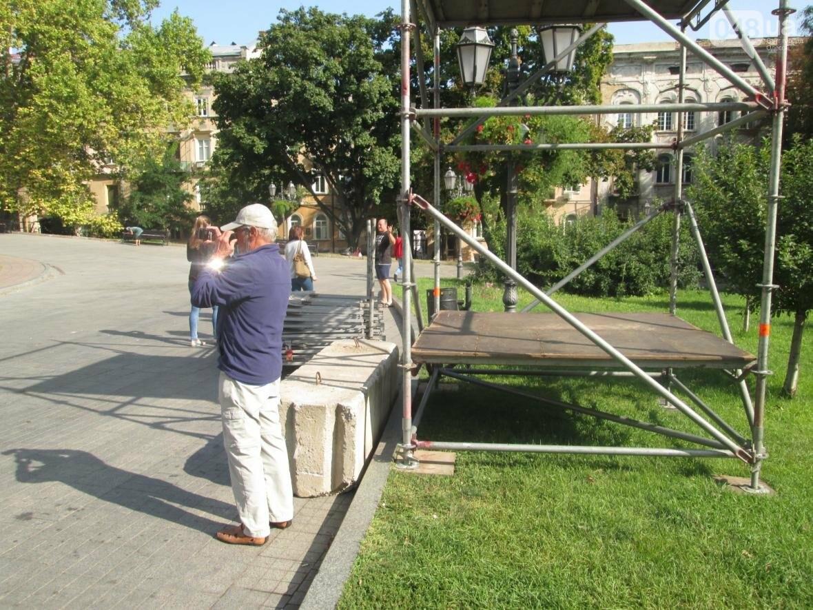 """Одессу """"наряжают"""" в металл и готовят к празднику (ФОТО), фото-5"""