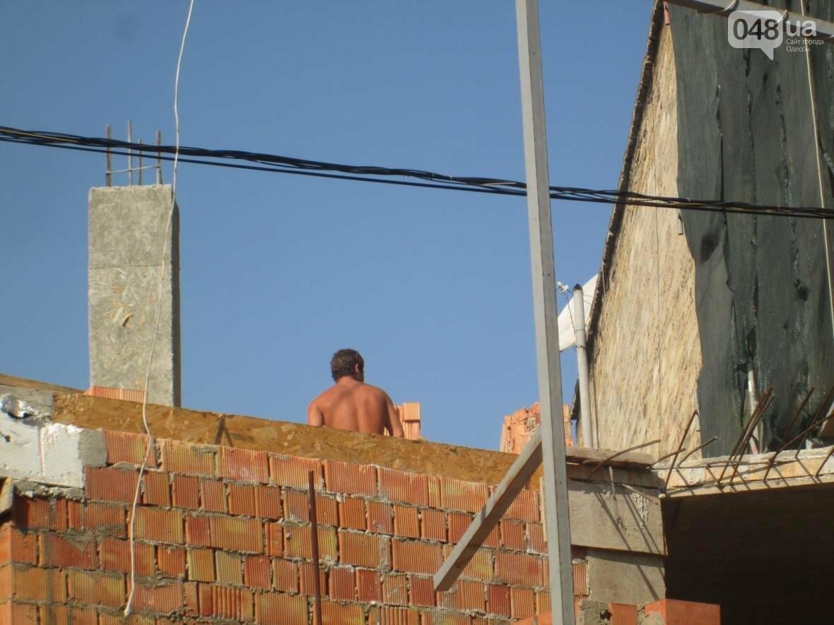 Застройщик дома-стены оставил послание одесским радикалам (ФОТО), фото-4