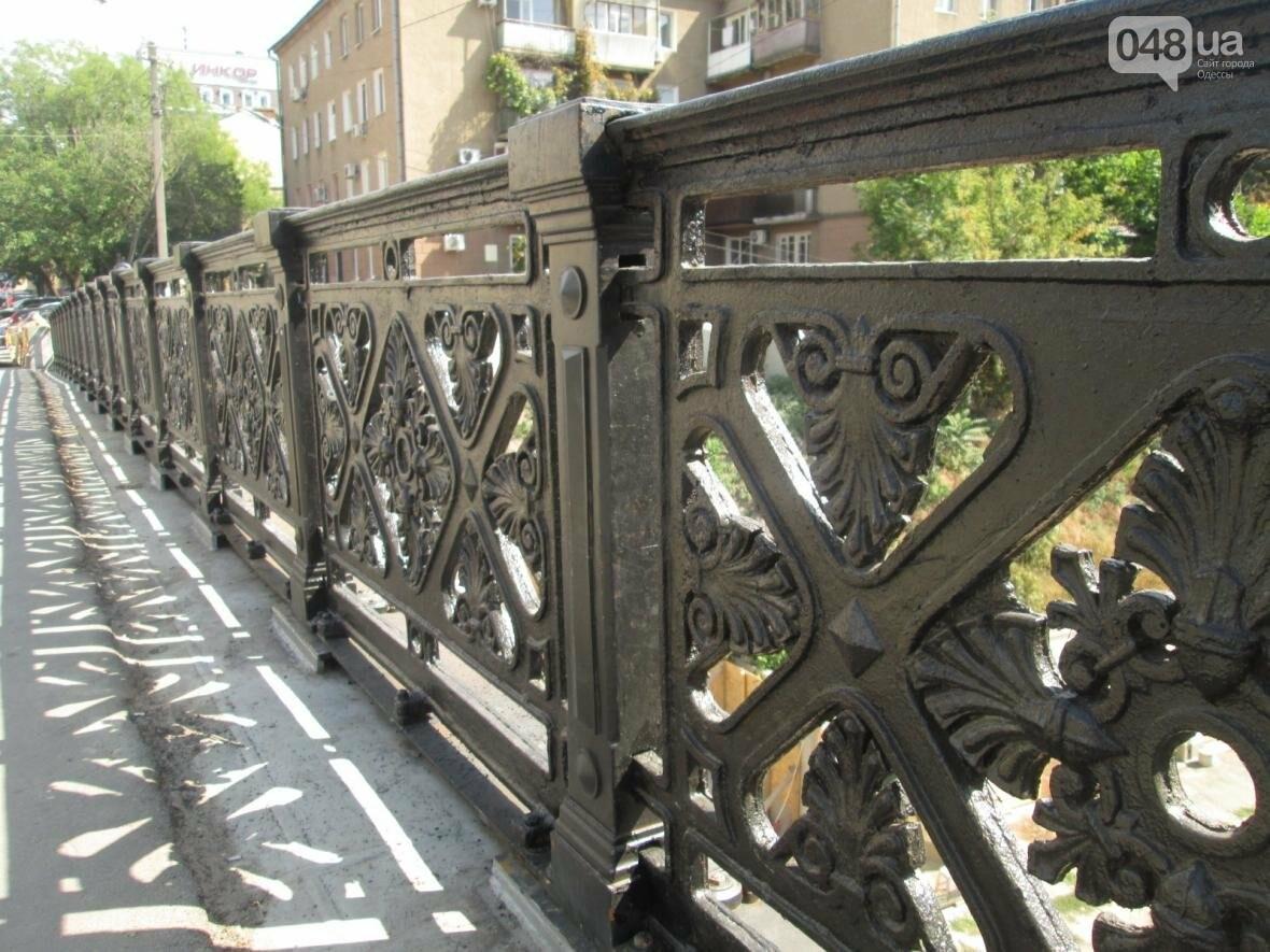 Новая ограда и свежая ржавчина: Как ремонтируют легендарный одесский мост (ФОТО), фото-4