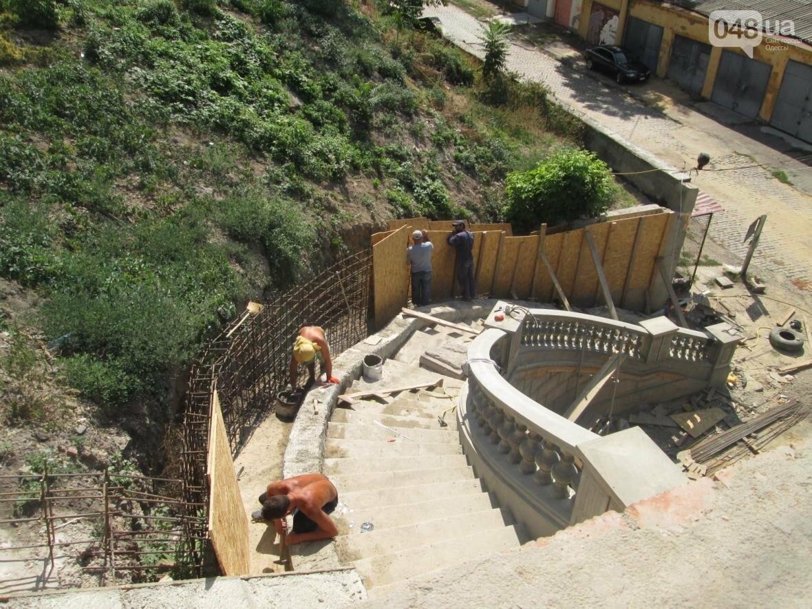 Новая ограда и свежая ржавчина: Как ремонтируют легендарный одесский мост (ФОТО), фото-8
