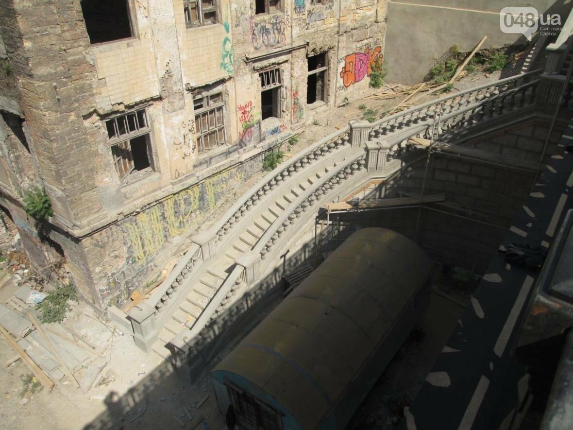 Новая ограда и свежая ржавчина: Как ремонтируют легендарный одесский мост (ФОТО), фото-11