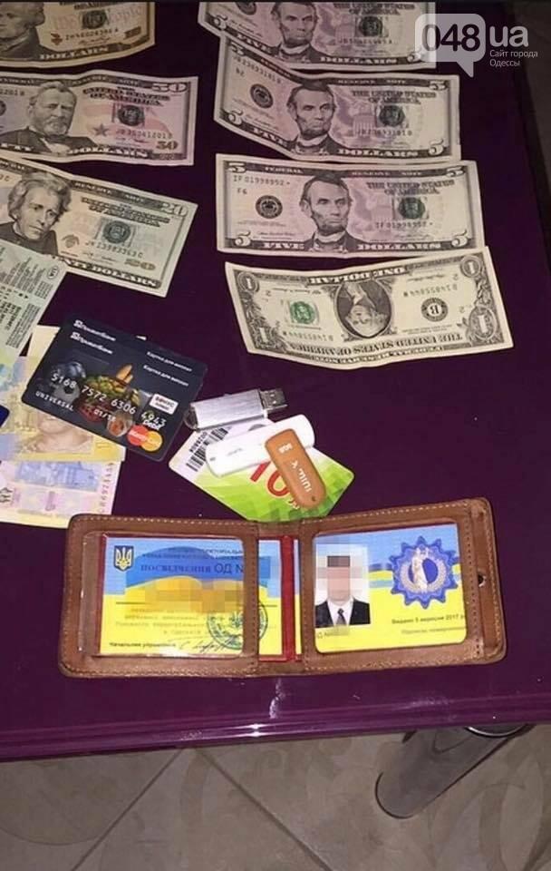 В машине замначальника Одесского управления юстиции нашли тысячи долларов (ВИДЕО), фото-2
