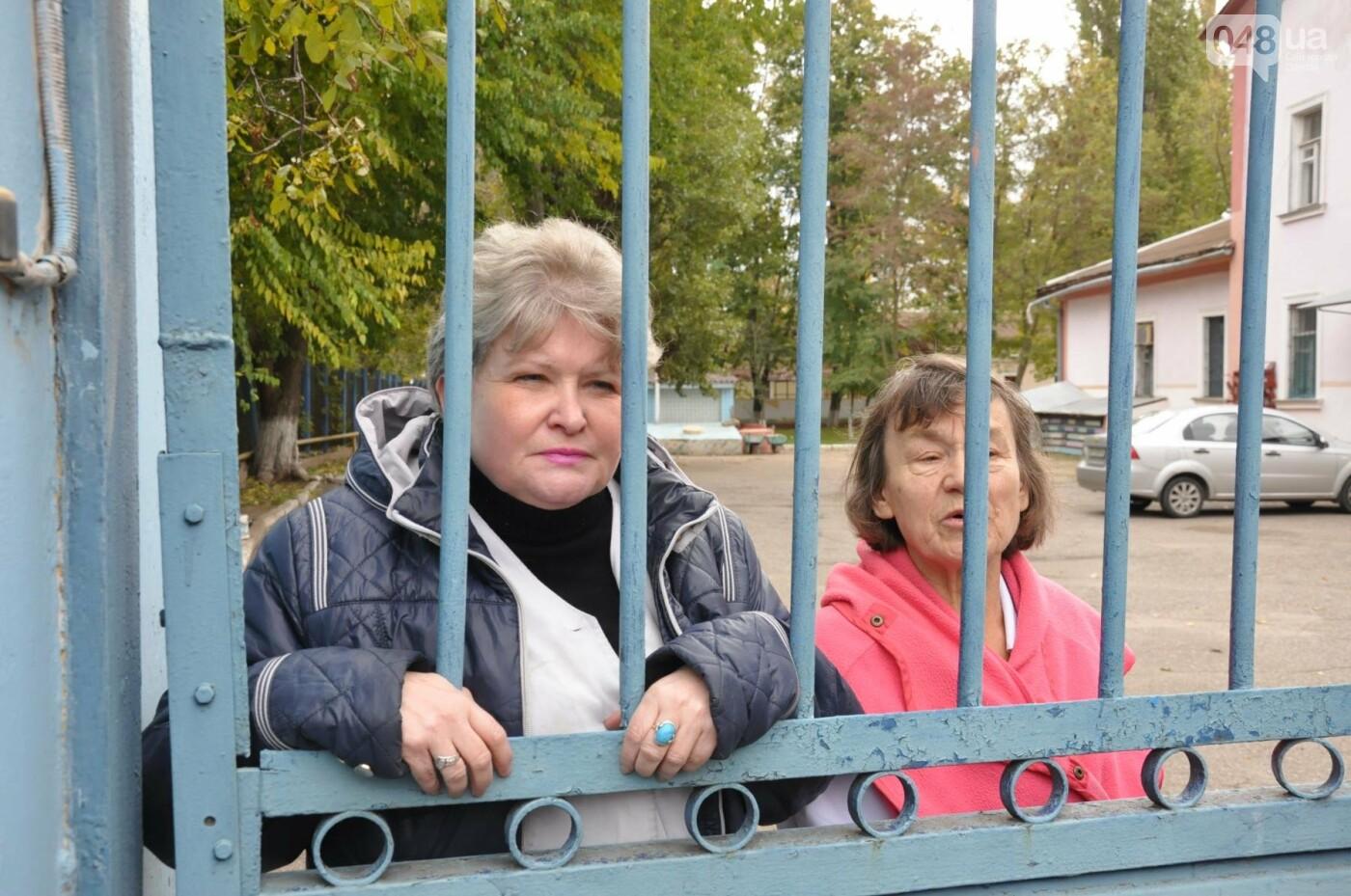 В Одессе взбунтовался коллектив детского туберкулезного санатория (ФОТО, ВИДЕО), фото-2