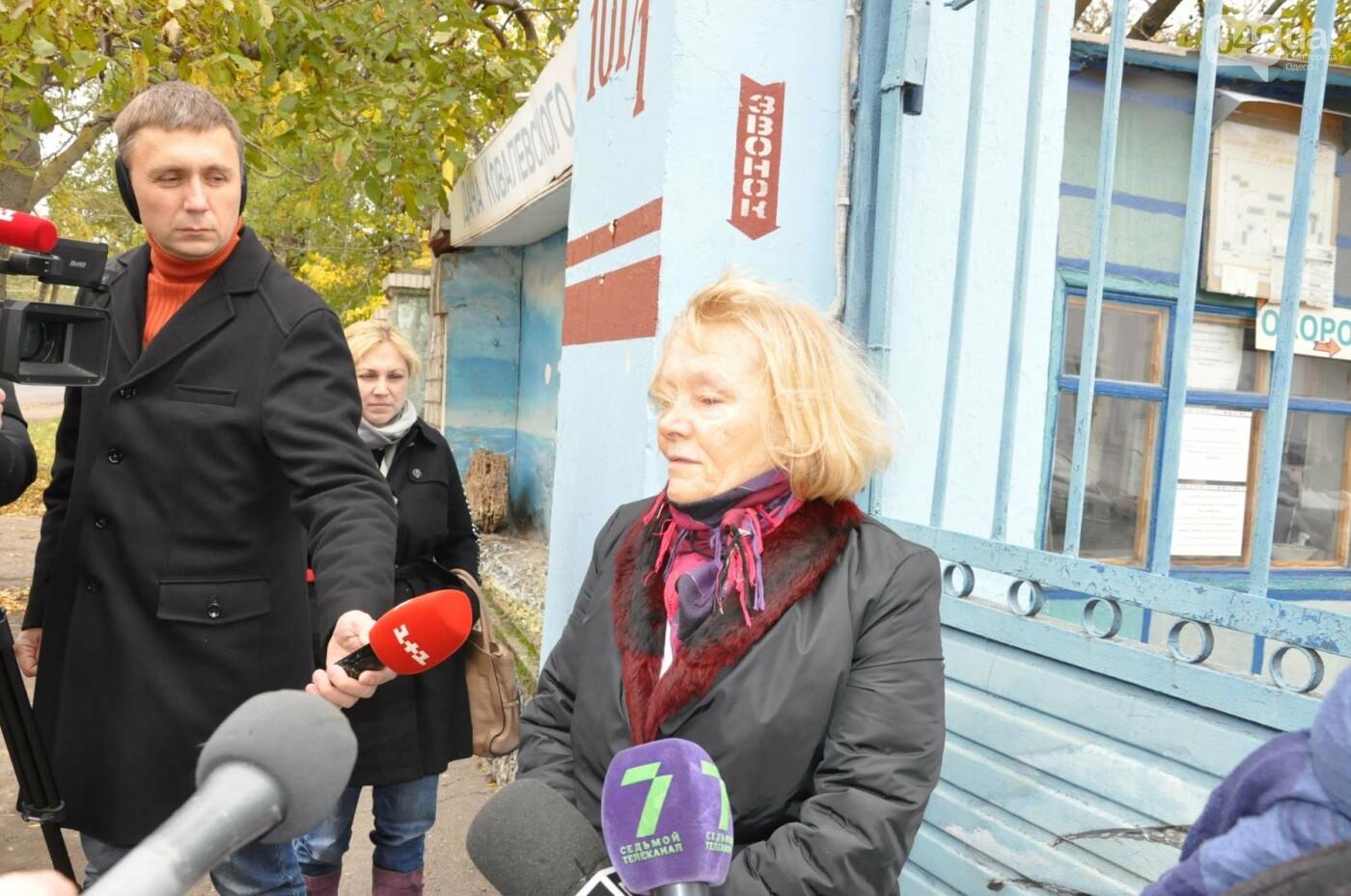 В Одессе взбунтовался коллектив детского туберкулезного санатория (ФОТО, ВИДЕО), фото-4