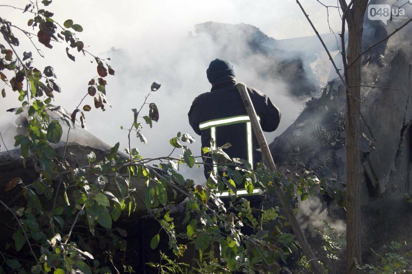 Одесский санаторий продолжает гореть до сих пор (ФОТО, ВИДЕО), фото-1