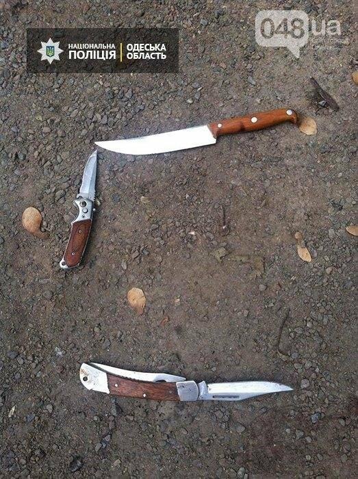 В Одессе бандиты с ножами напали на полицейских (ФОТО), фото-1