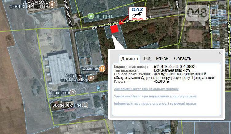 Незаконную газовую заправку установили прямо на въезде в Аэропорт Одесса, фото-2