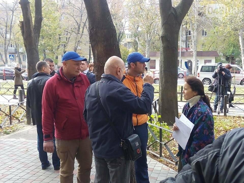 """""""Айдаровцы"""" срывали пресс-конференцию в Одессе в такой же форме, как у захватчиков аэродрома (ФОТО, ВИДЕО), фото-1"""