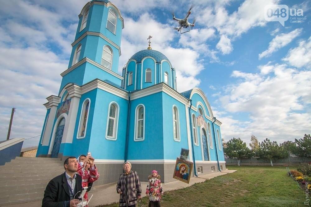 Крестный ход заменили крестным полетом в Одесской области (ФОТО), фото-5