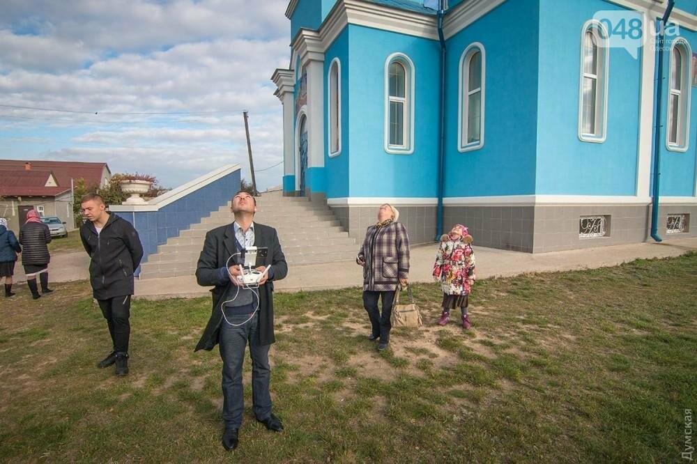 Крестный ход заменили крестным полетом в Одесской области (ФОТО), фото-2