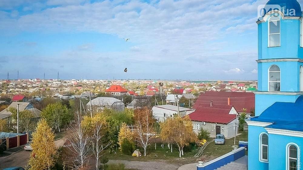 Крестный ход заменили крестным полетом в Одесской области (ФОТО), фото-6
