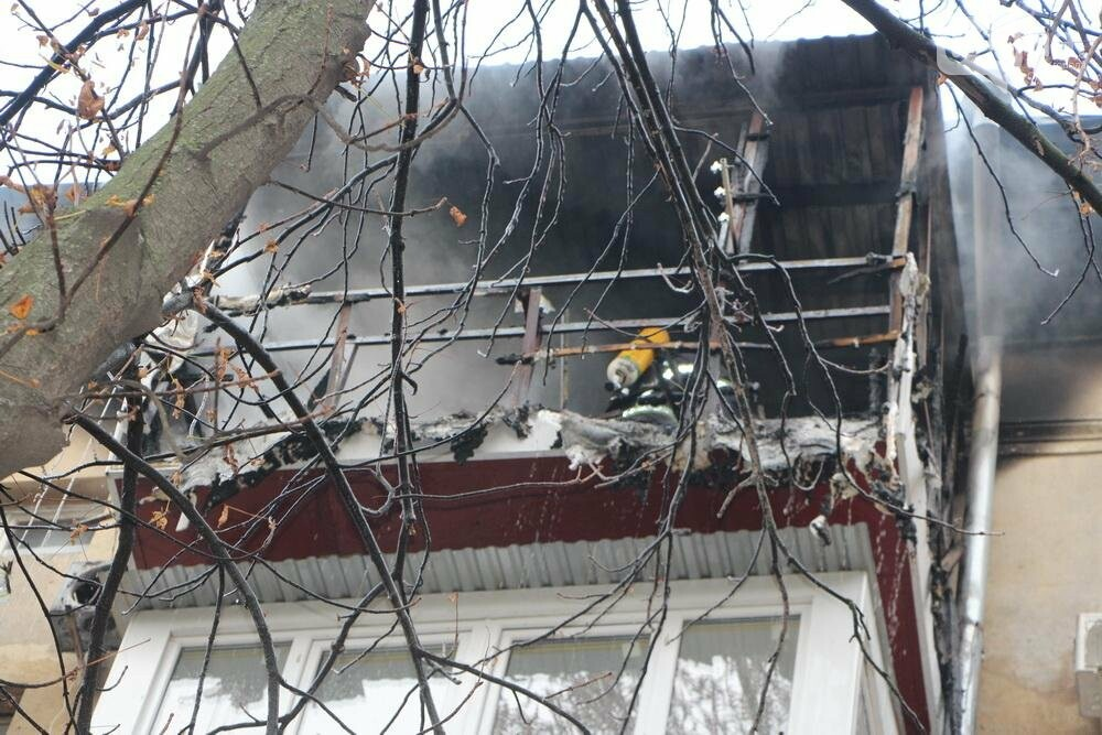 В Одессе на Фонтане горела квартира (ФОТО), фото-4