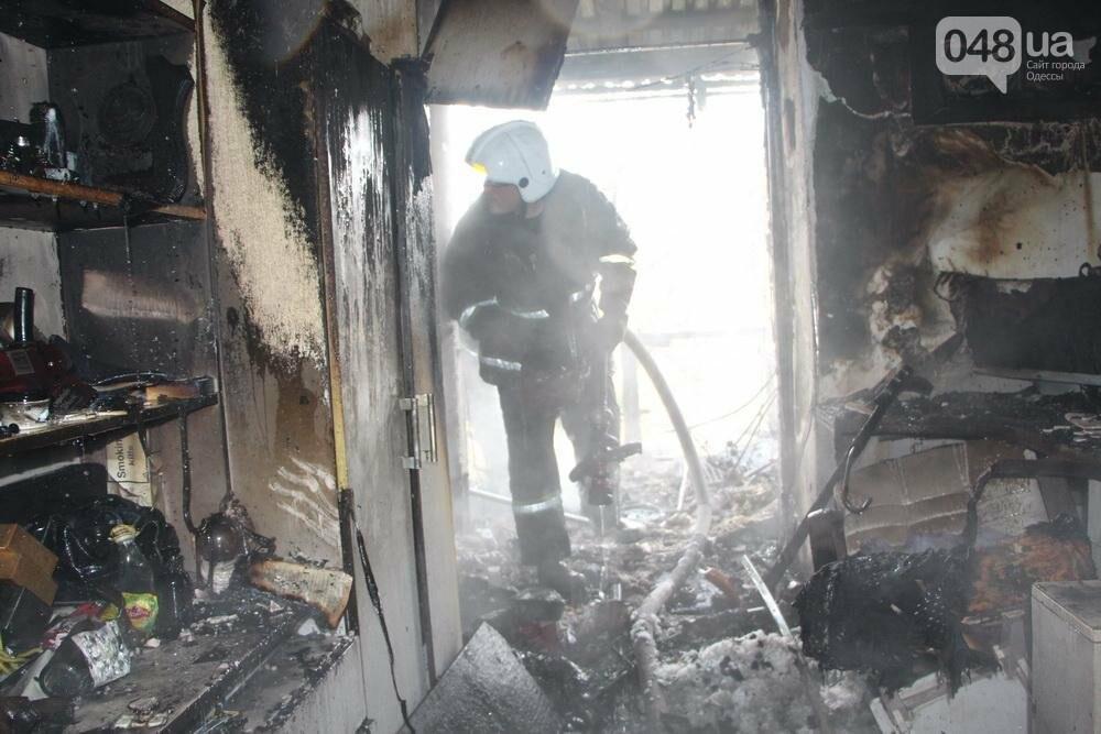 В Одессе на Фонтане горела квартира (ФОТО), фото-2