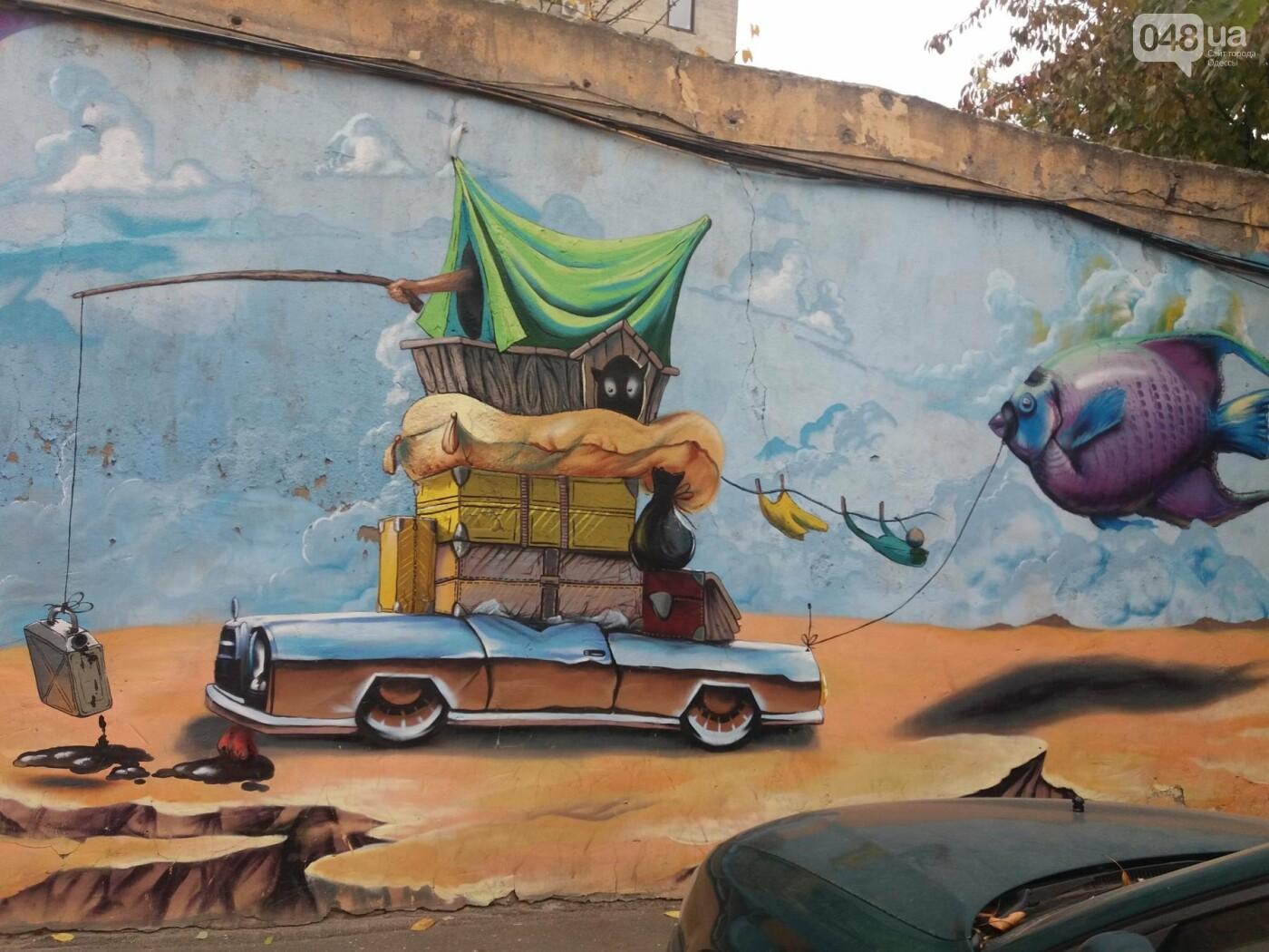 В центре Одессы обычную булочную превращают в шедевр граффити (ФОТО, ВИДЕО), фото-4