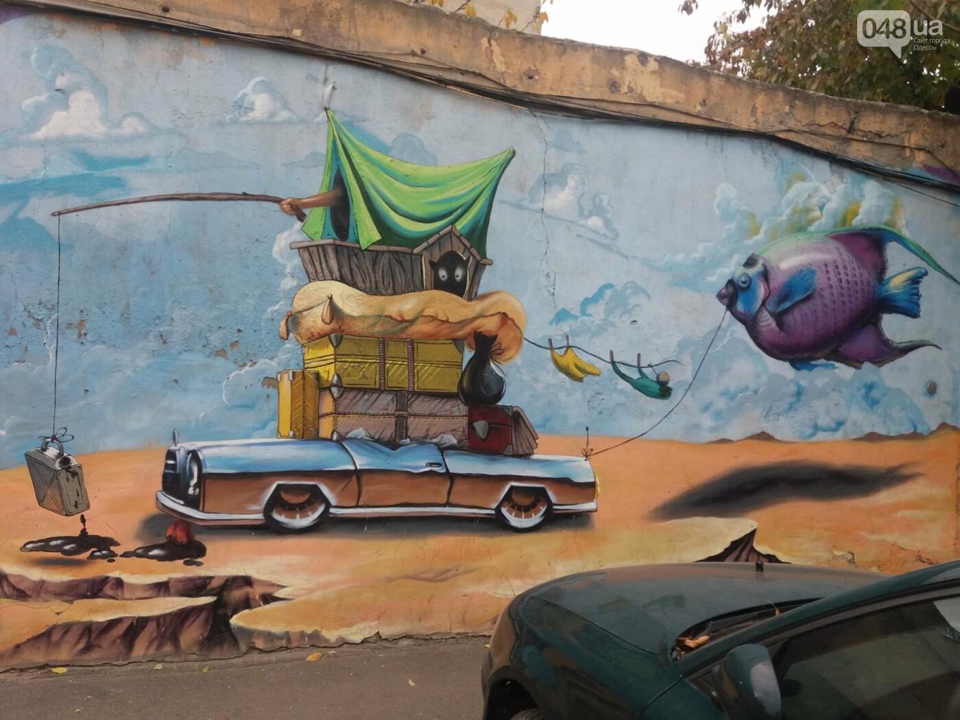 В центре Одессы обычную булочную превращают в шедевр граффити (ФОТО, ВИДЕО), фото-5
