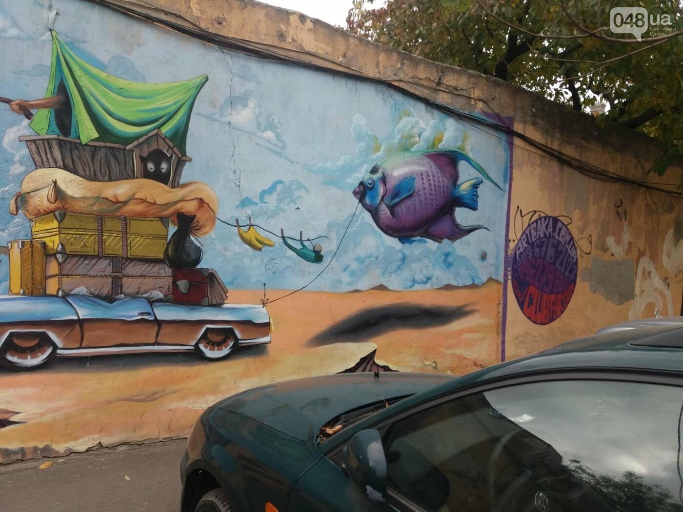 В центре Одессы обычную булочную превращают в шедевр граффити (ФОТО, ВИДЕО), фото-3